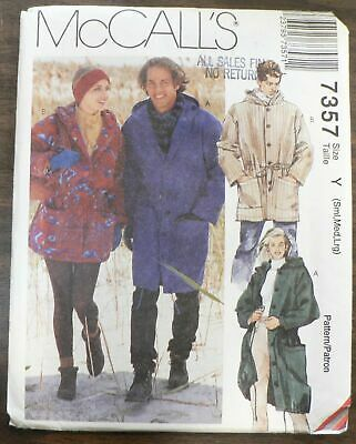 mccalls Cosplay Homme sewing pattern 2037 Historical Duster... Gratuit UK p/&p