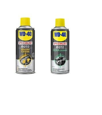 Kit Wd40 Pulitore-Grasso- Catene Universali Moto Motocross Off-Road