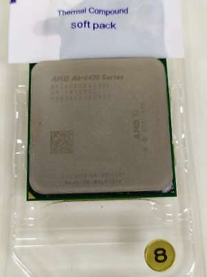 Used AMD A6-6400K 3.9GHz Quad-Core Processor 65W 100% Working