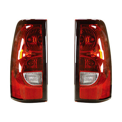 Fits 2004 - 2006 Chevy SILVERADO 2500 HD Tail Light Pair Side