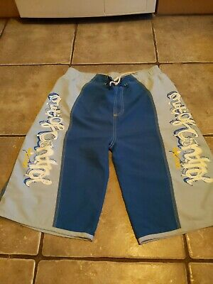 Boys Blue Swimming Board Shorts Age 11-12 By Next