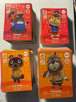 Animal Crossing Amiibo Cards Series 1 2 3 & 4 - US Version, Buy Multi and Save