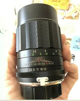 EXC+ SOLIGOR (Tokina) Portrait Lens 135mm F2.8 Prime for Minolta MD mount, Sony