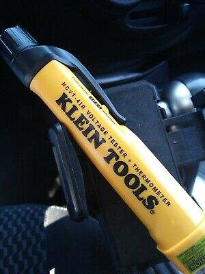 Klein Tools NCVT-4ir Non-Contact Voltage Tester with Low Battery Indicator -