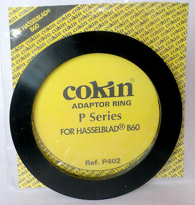 Cokin P402 P series adapter ring to fit Hasselblad Bayonet 60.