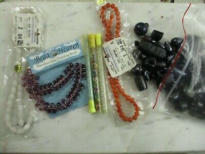 beads jewelry making supplies glass gem modern and vintage
