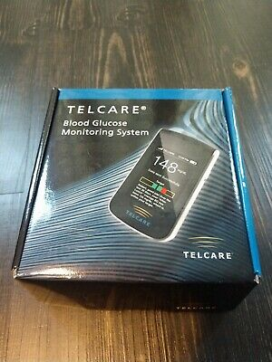 Telcare BGM Blood Glucose Monitoring System Wireless EXP 2018