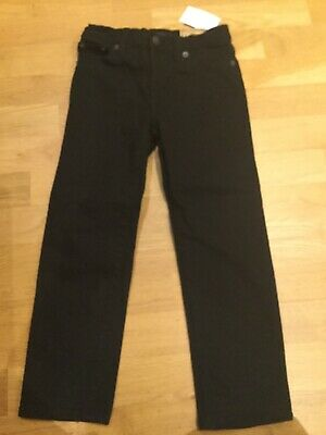 Boys Polo Ralph Lauren The Hampton Straight Black Skinny Jeans Age 5 BNWT New