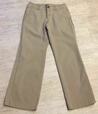 EDDIE BAUER  Women's sz. 2 Beige Khaki Business Casual Career Pants  EUC