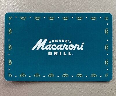 50$ Macaroni Grill Gift Card!!!! Brand New!!!! No Expiration Date!!!