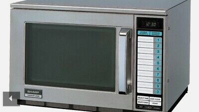 SHARP COMMERCIAL MICROWAVE OVEN R2398J-A - Brand New in Box - HALF PRICE