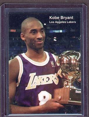 1998 KOBE BRYANT PROMOTIONAL Sports Weekly Lakers CARD RARE!