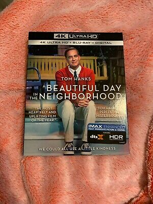 A Beautiful Day In The Neighborhood 4k + Blu-ray  with slipcover (No Digital)