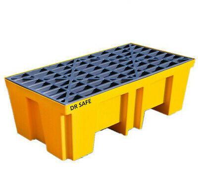 Spill Containment Pallet 2 Drum high