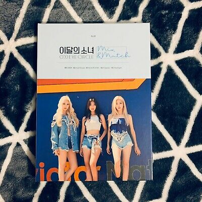 LOONA Odd Eye Circle Mix & Match Limited Album Opened (US SELLER) No Photocard