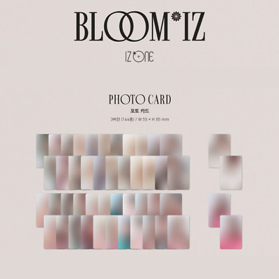 IZ*ONE 1st Album BLOOM*IZ Official Photo Card [I*WILL Ver.]