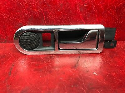 2001 Vw Golf Mk4 Rear Driver Side Right Inner Door Handle & Tweeter