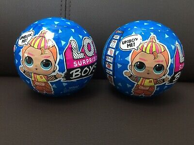 2 LOL Surprise Boys Series 2 L.O.L Boys Dolls Series 2 LOL Surprise Dolls X 2