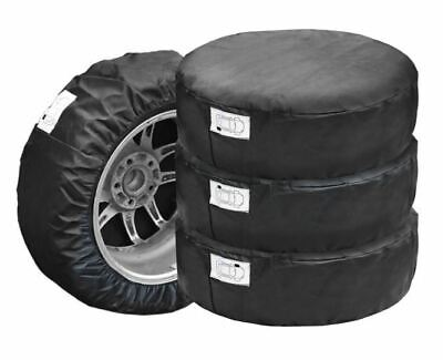 """Set of 4 Spare Wheel Protective Cover Tyre Tire Storage Bag 13"""" 14"""" 15"""" 16"""""""