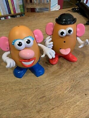 x2 TOY STORY MR & Mrs POTATO HEAD WITH ACCESSORIES