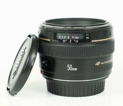 Canon EF 50 mm F/1.4 EF USM for Canon Lens in fantastic condition
