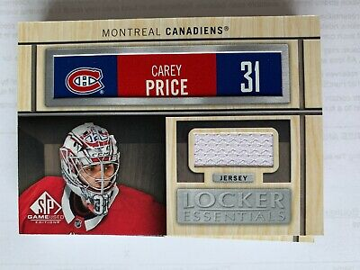 2019-20 SP GAME USED Locker Room Essentials jersey PICK FROM LIST