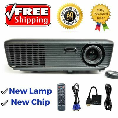 Optoma TX536 DLP Projector New Chip - New Lamp 2800 Lm HD 1080i/p w/Accessories