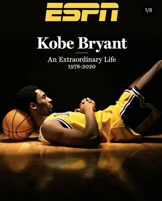 Ships Now!!! Kobe Bryant - ESPN Magazine - Special Edition 2020 Tribute Issue 💜