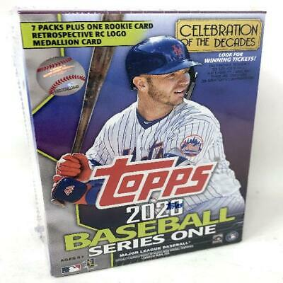 2020 Topps Series 1 Baseball Relic Blaster Box Retail