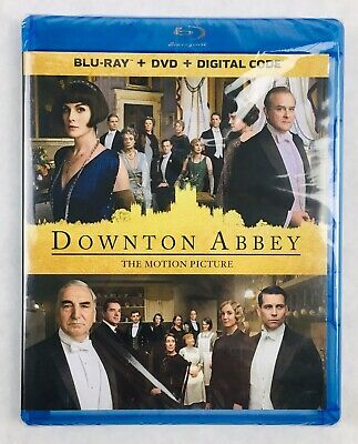 Downton Abbey: The Motion Picture (Blu-Ray, DVD, Digital, 2019) - NO SLIP - NEW!