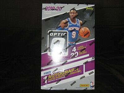 2019-20 Panini Donruss Optic Basketball Hobby Box 1 Auto Per Box Factory Sealed