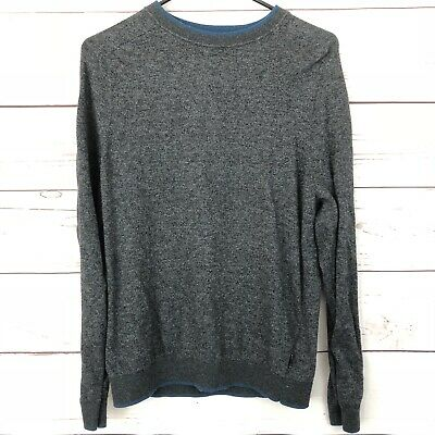 BNWT Ted Baker Jakgee All Over Jacquard Print L//S Jumper Grey
