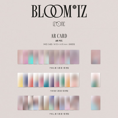 IZ*ONE 1st Album BLOOM*IZ Official AR Card