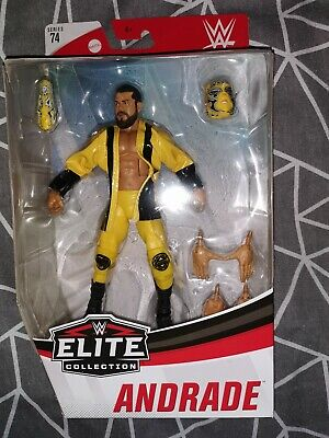 WWE ANDRADE Mattel Elite Series 74 Wrestling Action Figure NXT WWF Brand New.