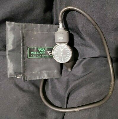 Welch Allyn Tycos Classic Hand Held Blood Pressure Aneroid Sphygmomanometer