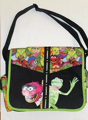 The Muppets Messenger Tote Bag By Disney Kermit Animal