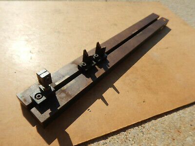 Checking Fixture With V Blocks And Indicator Holder Machinist Tool