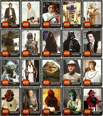 2017 TOPPS STAR WARS MAY THE 4th COMPLETE 20 BASE CARD SET