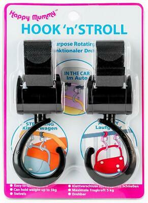 Happy Mummy Hook 'N' Stroll Buggy Clips