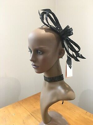 Headband Fascinator with Feathers. Wedding Ascot Hairband Alice Band Races