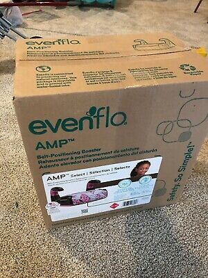 Blaire Evenflo Big Kid Elite No Back Booster Car Seat