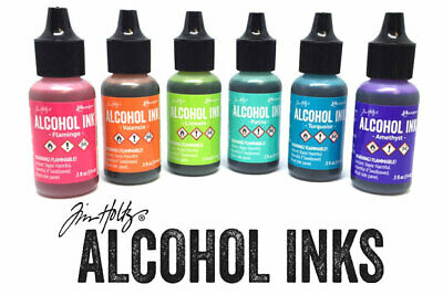 Ranger Alcohol Inks 0.5oz 14ml Bottles by Tim Holtz  ** FREE POSTAGE **