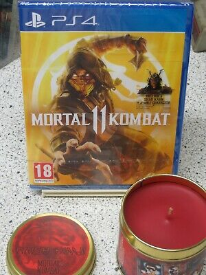 Mortal Kombat 11 PS 4  Day One Edition Playstation 4 + Kerze NEU/OVP
