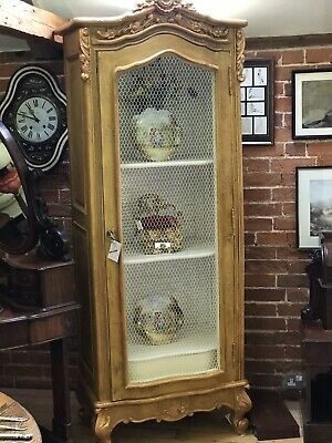French Style Armoire Wardrobe Display Cabinet
