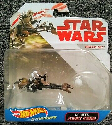 STARSHIPS AND VEHICLE COLLECTION STAR WARS IMPERIAL SPEEDER BIKE WITH BOOKLET