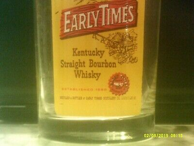 Early Time's Whiskey Glass