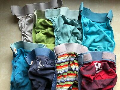 Gdiapers Size Medium: 8 Covers, 27 Inserts, Used Condition