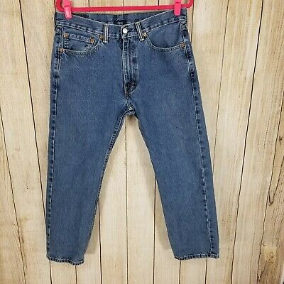 Levis 505 Regular Fit Mens Jeans.  Very Nice Condition!