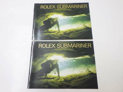 Rolex Genuine Submariner Booklet 2000 French 2 items b220837