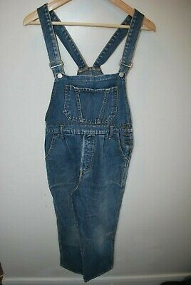 Vintage Girl circus circus essential teens dungarees size 9-11 made USA